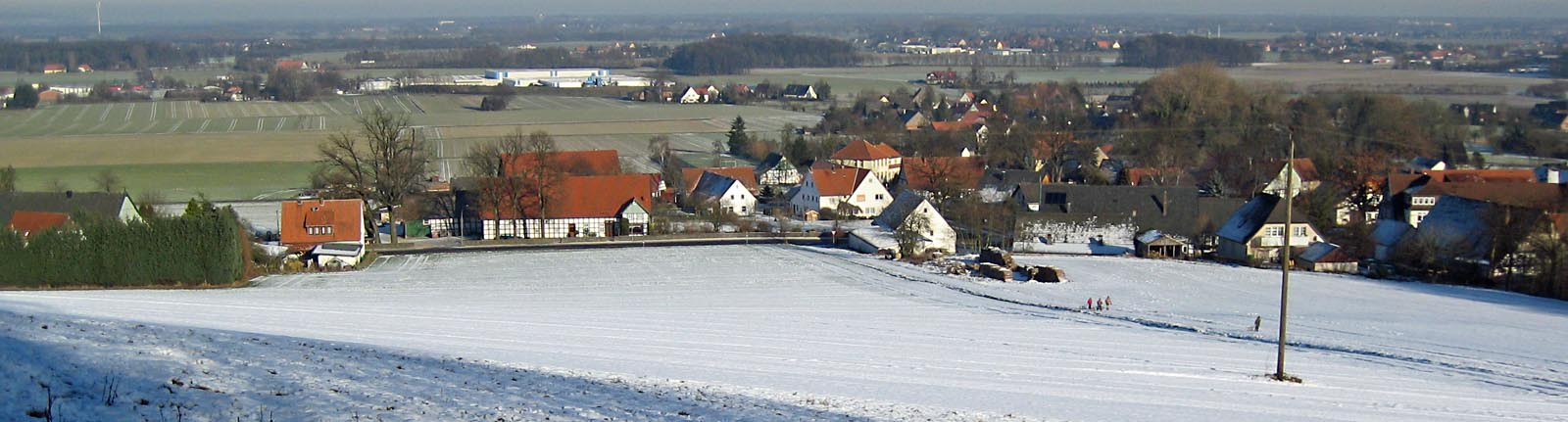 Hüsede im Winter